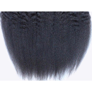 Hair on Weft Kinky Straight