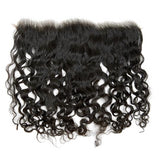 Raw Curly Human Hair Frontal