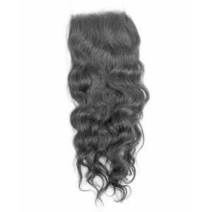 Raw Wavy Human Hair Closure