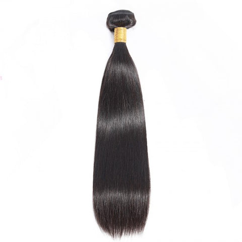 Raw Straight Human Hair on Weft