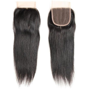 Raw Lace Straight Closures