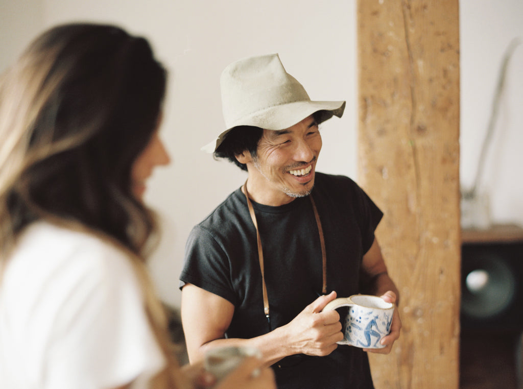 Tok Kise of Truck Furniture with Canyon Coffee DTLA | Justin Chung