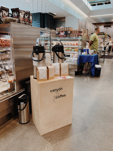 Canyon Coffee at Erewhon Organic Market in Los Angeles, CA