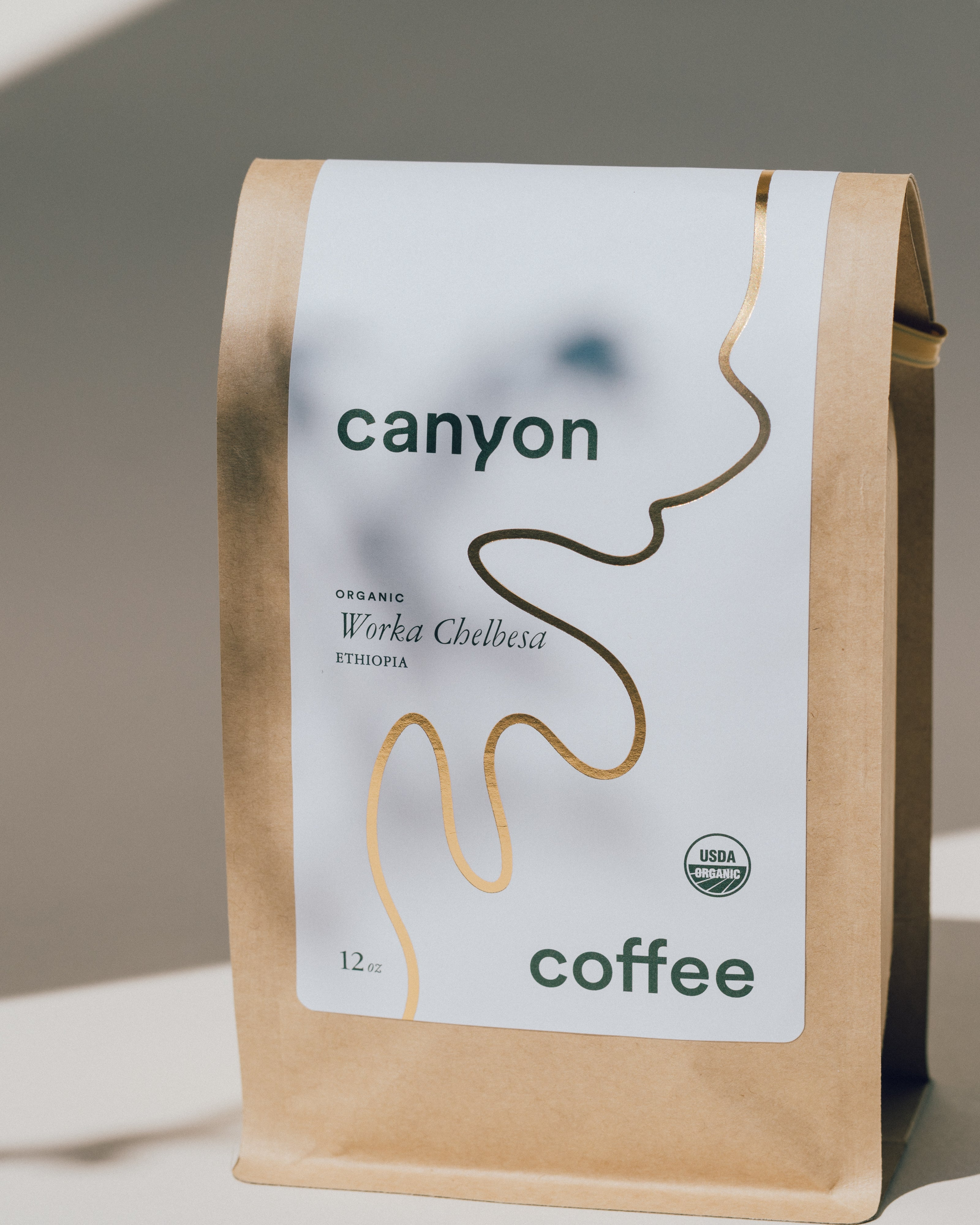 Organic Worka Chelbesa washed coffee from Ethiopia | Canyon Coffee