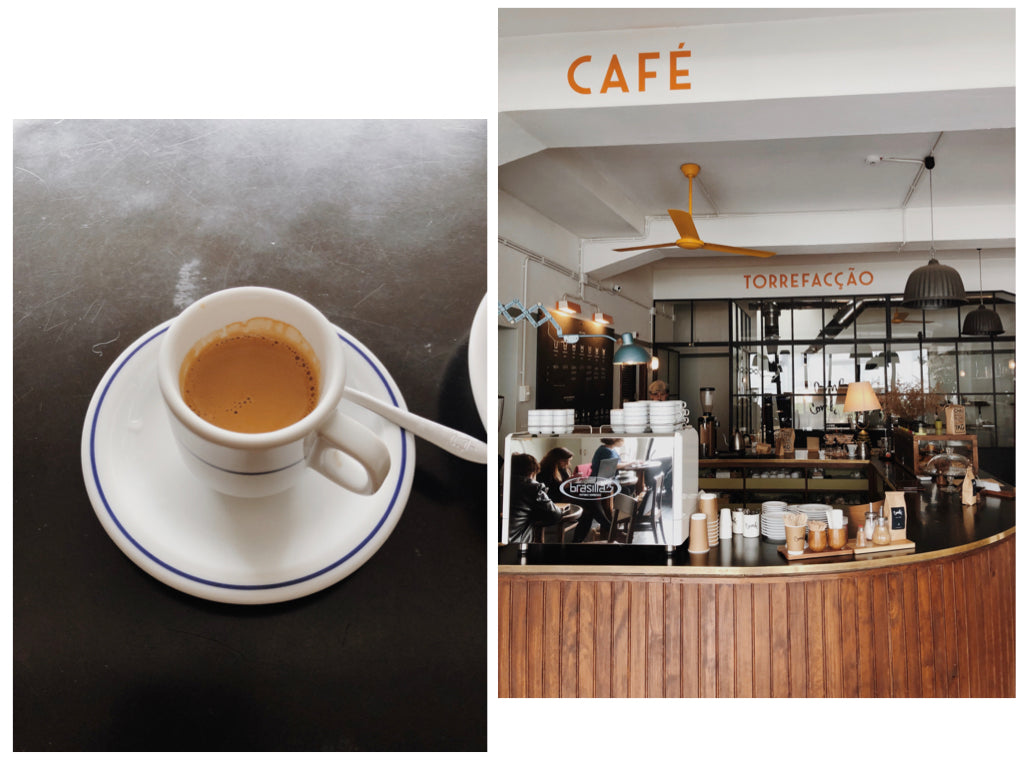 Espresso and the coffee bar at Combi in Porto, Portugal | Canyon Coffee