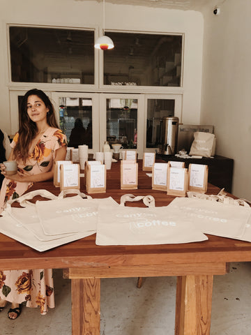 Canyon Coffee in New York | Ally Walsh, founder of Canyon Coffee, at a pop-up with l'estudio in New York City