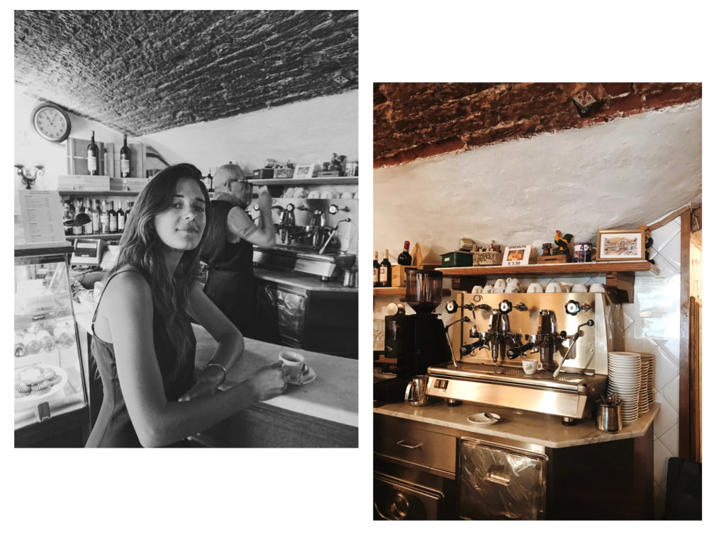 Ally Walsh of Canyon Coffee at Mariano in Florence, Italy