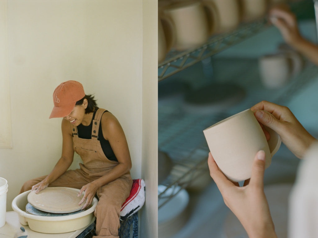 Monica Galan of Salamat Ceramics