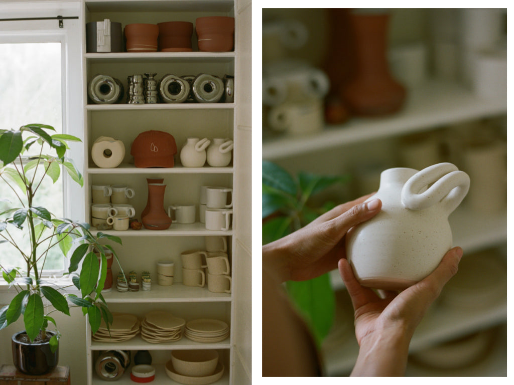 Salamat Ceramics in the home of Monica Galan