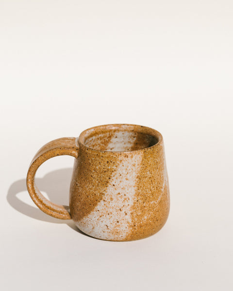 Alison Andersson Ceramic Mug in White Splash