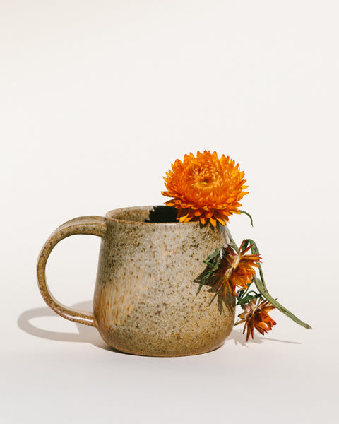 Big Olive Mug by Alison Andersson