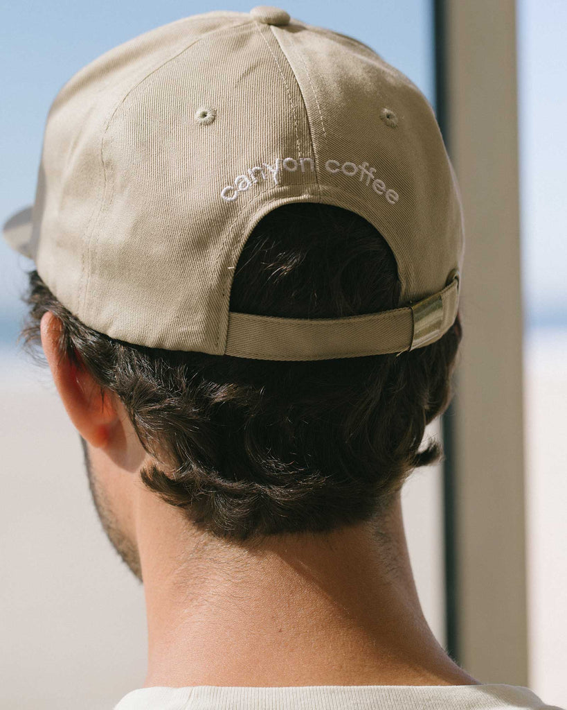 Back of the Canyon Cap, by Canyon Coffee | Los Angeles fashion