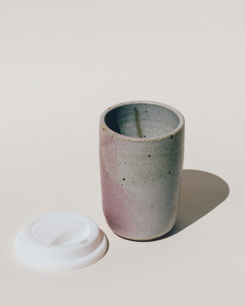 To Go Ceramic Mug by Lucy Michel