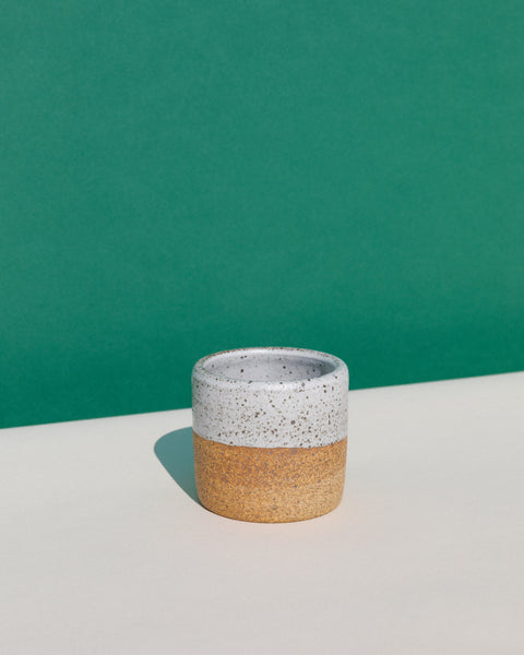 The Canyon Mug, a collaboration between Canyon Coffee and EMK Ceramics of Venice, CA