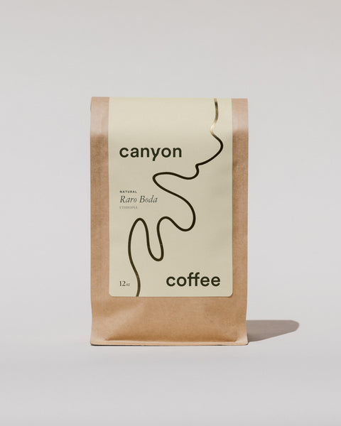 Raro Boda Natural processed coffee by Canyon Coffee