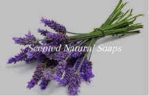 Pure and natural soap - Scented natural soap Patchouli lavender