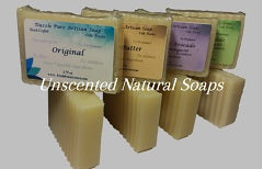 Pure and natural soap - Unscented All Natural Soap Bars