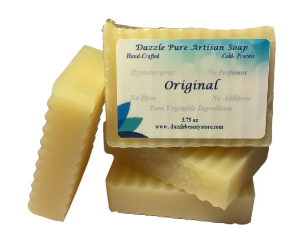 Pure Artisan Coconut Oil Soap Bar - unscented coconut soap
