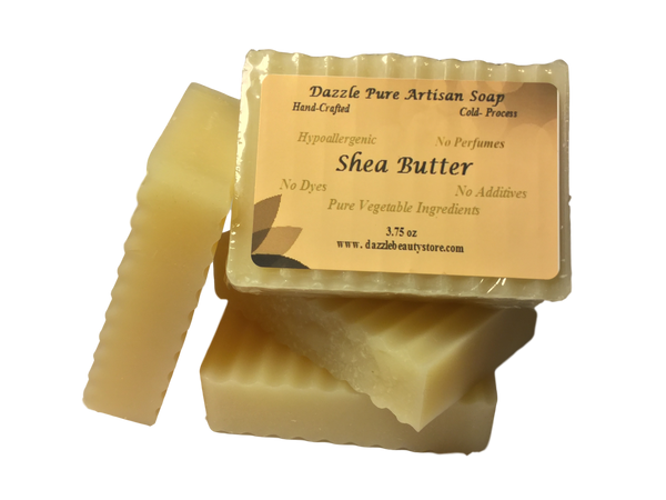 Pure artisan shea butter soap bar - pure natural soap bars