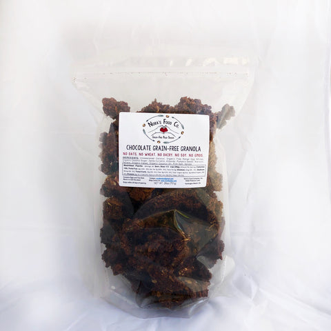 Chocolate Grain Free Granola [26oz] BULK