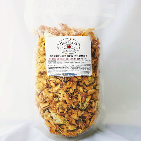 No Sugar Added Grain Free Granola [27 oz]