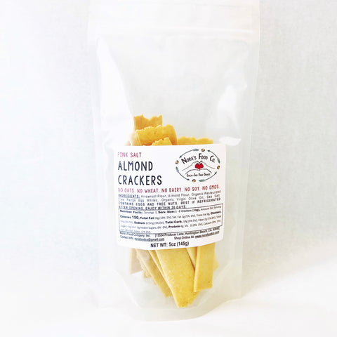 Pink Salt Almond Crackers - NEW [5oz] Pack!
