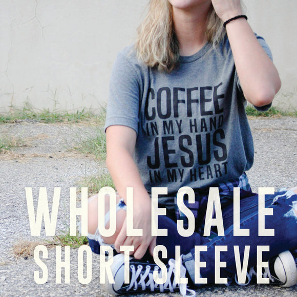 Wholesale Short Sleeve Tees