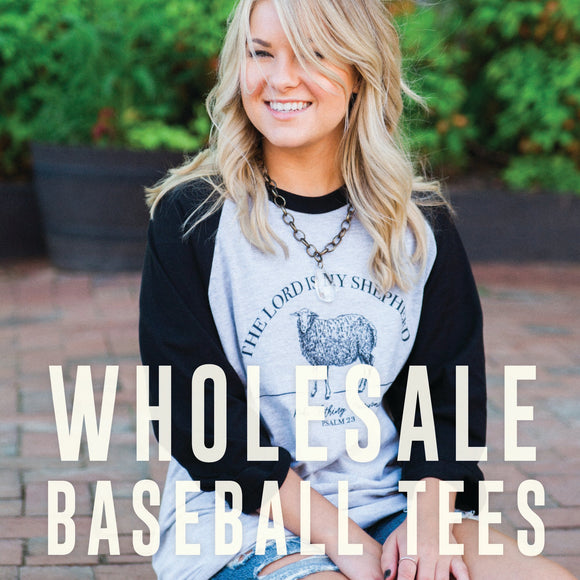 Wholesale Baseball Tees
