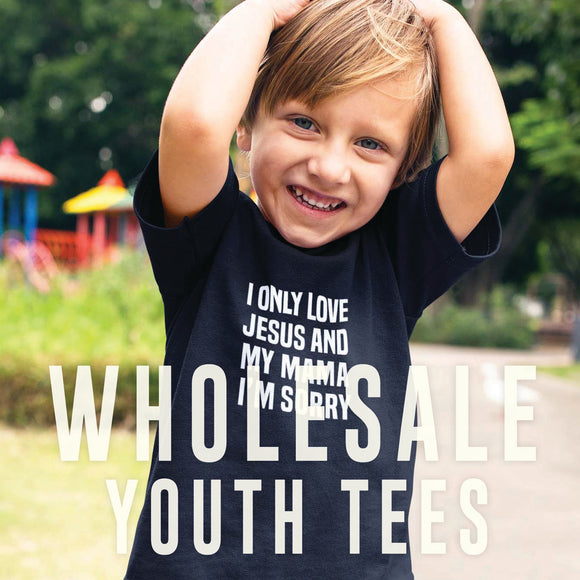 Wholesale Youth Tees