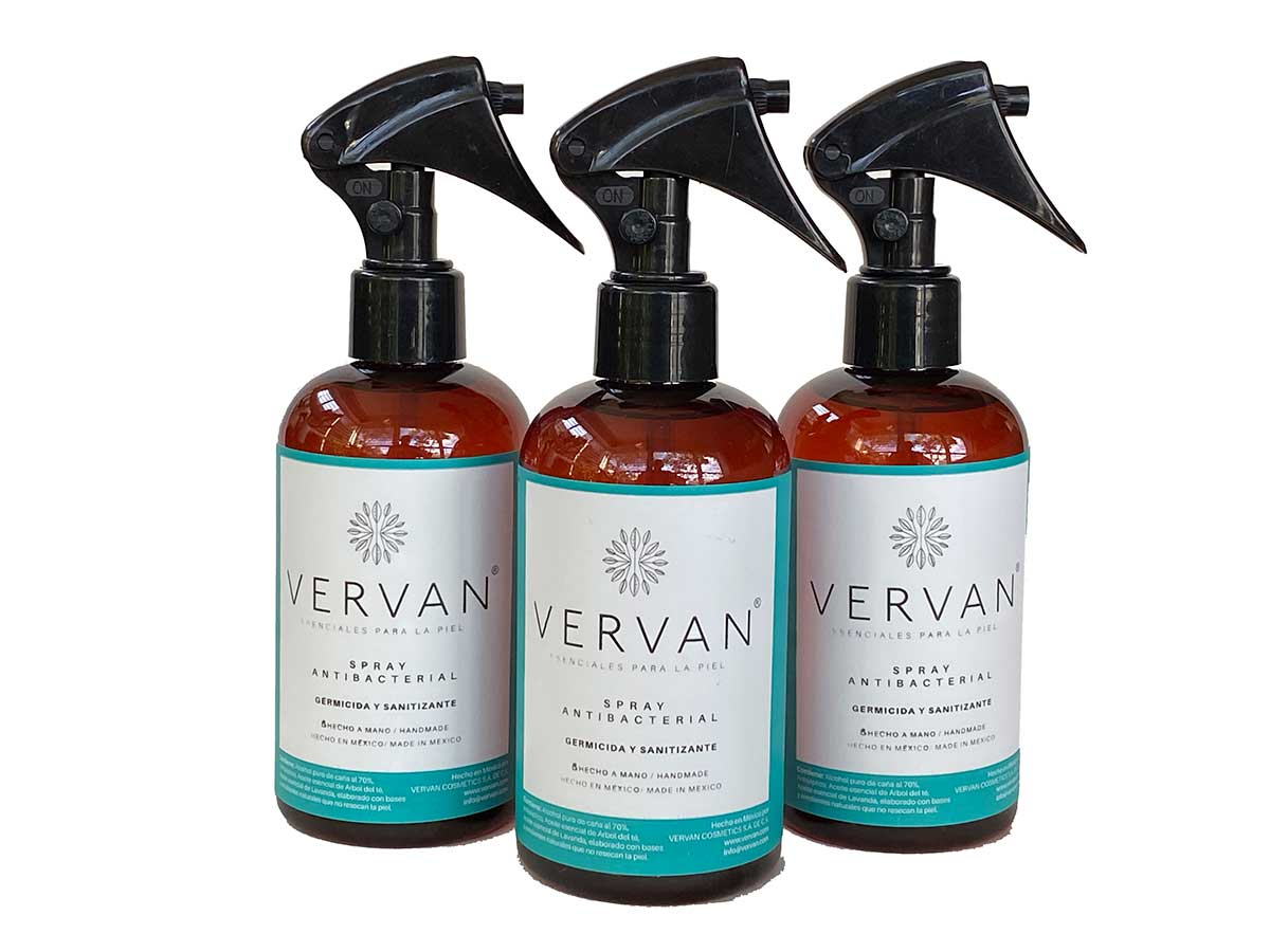 Spray Antibacterial, Germicida y Sanitizante