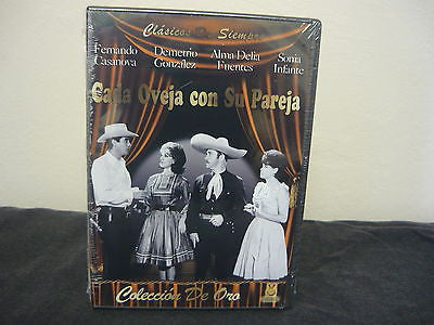 Cada Oveja Con Su Pareja DVD (FULLSCREEN) NOT RATED Brand New! Factory Sealed!