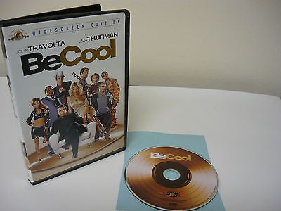 Be Cool DVD (WIDESCREEN) Action Adventure John Travolta Uma Thurman Vince Vaughn