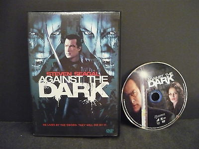 Against The Dark DVD (WIDESCREEN) Action Adventure Steven Seagal Tanoai Reed
