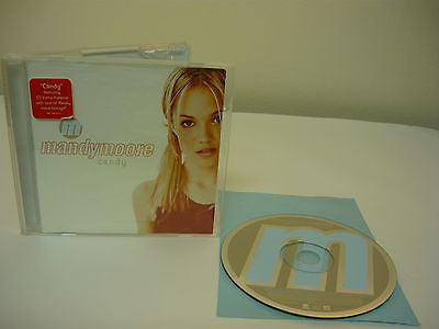 Candy by Mandy Moore (CD) Rock Popular Teen Pop Music Candy Dingle (Album Versio