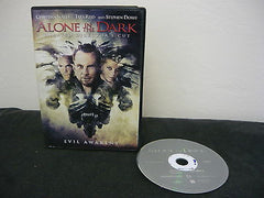 Alone in the Dark DVD WIDESCREEN Unrated Director's Cut Horror Suspense Thriller
