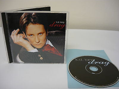 Drag by k.d. lang (CD) Alternative Country Pop Music Don't Smoke In Bed The Joker