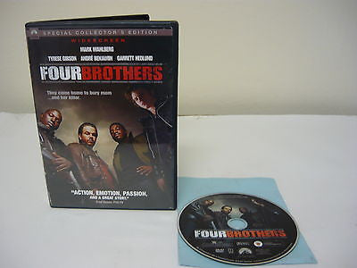 Four Brothers DVD Special Collector's Edition (WIDESCREEN) Action Adventure Movie