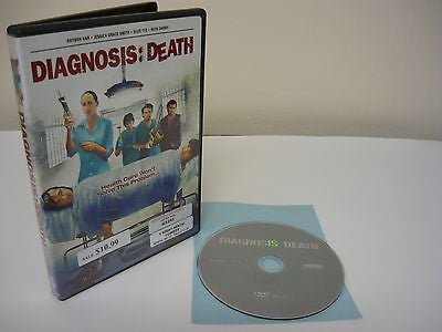 Diagnosis: Death DVD (WIDESCREEN) Horror Suspense Thriller Jessica Grace Suze Ty