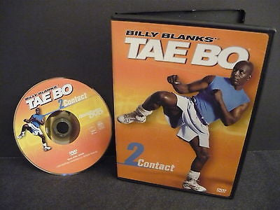 Billy Blanks - Tae Bo Contact 2 DVD FULLSCREEN Not Rated Physical Fitness Sale