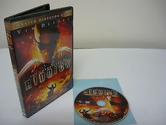 Chronicles of Riddick DVD (WIDESCREEN) Unrated Director's Cut Science Fiction