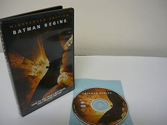 Batman Begins DVD WIDESCREEN Single Disc Version Science Ficton Fantasy Movie