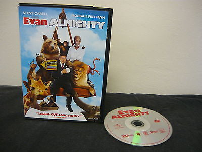 Evan Almighty DVD (WIDESCREEN) Comedy Action Adventure Steven Carell