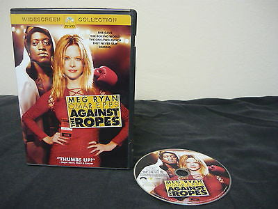 Against the Ropes WIDESCREEN Action Adventure Meg Ryan Omar Epps