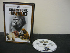 Champions of the Wild - Primates, Pandas and Bears (DVD) NOT RATED 1 Movie Disc