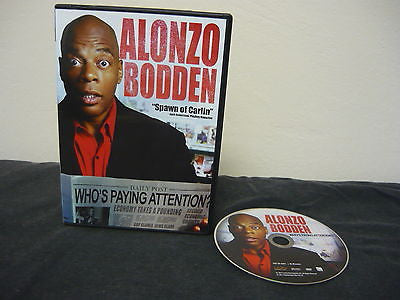 Alonzo Bodden: Who's Paying Attention? DVD WIDESCREEN NOT RATED Comedy