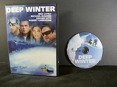 Deep Winter DVD (WIDESCREEN) Action Adventure Eric Lively Kellan Lutz