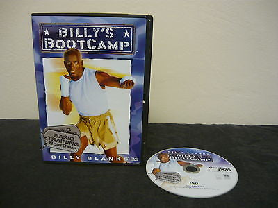 Billy Blanks- Basic Training Bootcamp DVD FULLSCREEN Not Rated Sports/Fitness