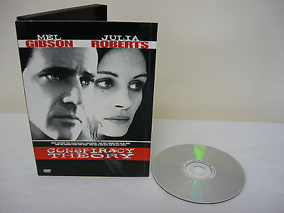 Conspiracy Theory DVD (WIDESCREEN) Action Adventure Mel Gibson Julia Roberts