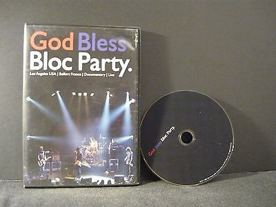 Bloc Party - God Bless Bloc Party DVD Not Rated Musical & Performing Arts Movie
