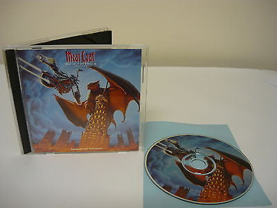 Bat Out of Hell II: Back into Hell by Meat Loaf (CD) Single Disc Rock Pop Music